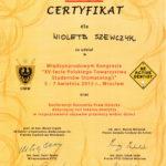 Szewczyk Wioleta - certyfikaty inne-13