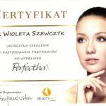 Wioleta Szewczyk - certyfikaty medycyna estetyczna-01