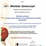 Wioleta Szewczyk - certyfikaty medycyna estetyczna-07