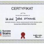 Certyfikat - Success Stairs